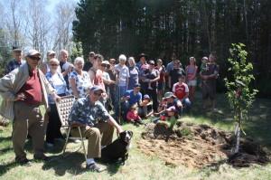 Utopian Community Planting Day 2013