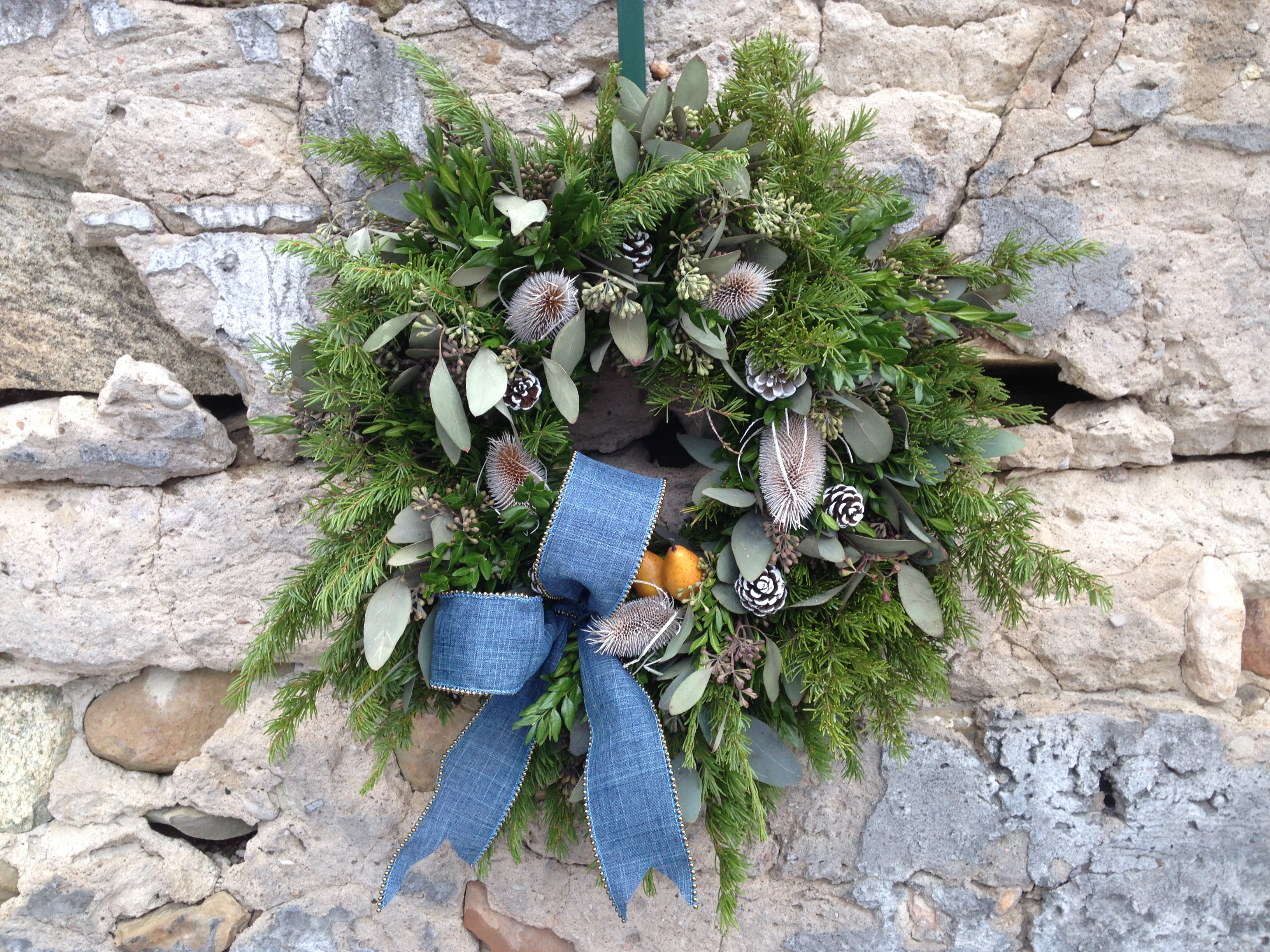 Standard with Premium Evergreen Wreath